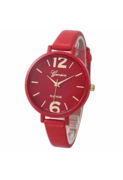 Женские часы Genvivia красные