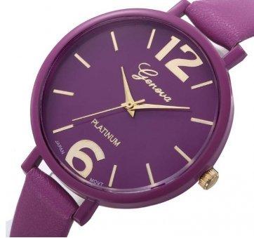 Женские Часы наручные Genvivia фиолетовые 2869