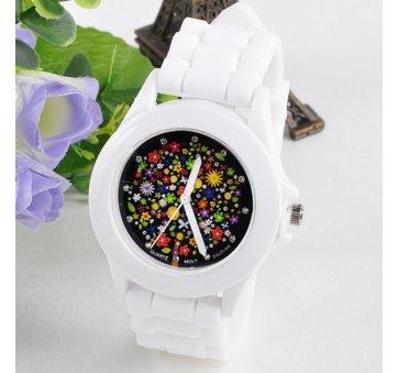 Женские Часы наручные Susenstone, белые 2870