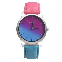 Часы Tangnade розовые с голубым