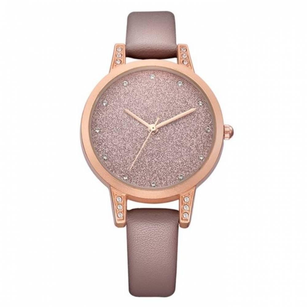 Женские Часы наручные REBIRTH коричневые 2895