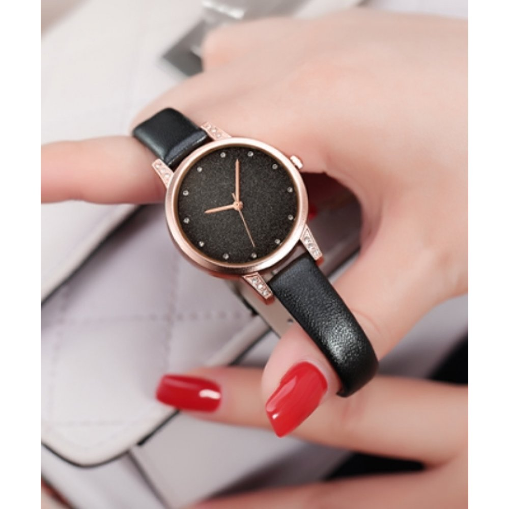Женские Часы наручные REBIRTH черные 2897