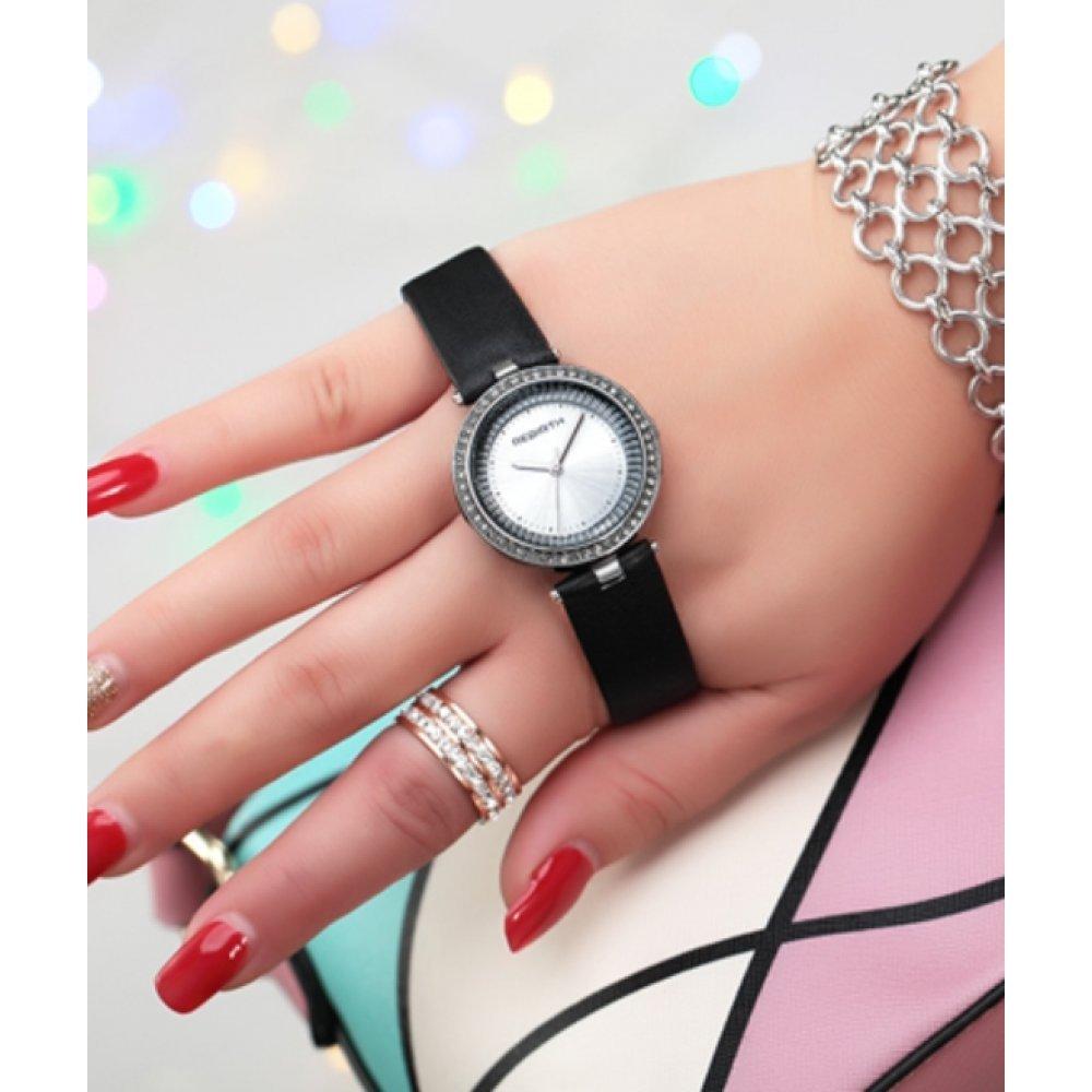 Женские Часы наручные REBIRTH черные 2900