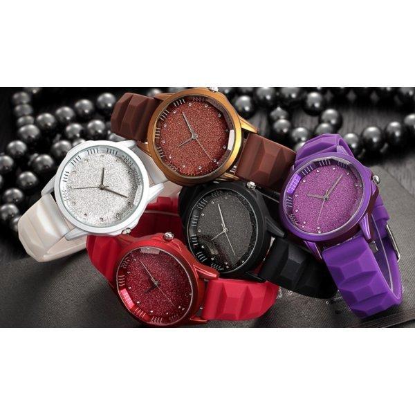 Часы REBIRTH фиолетовые 2904