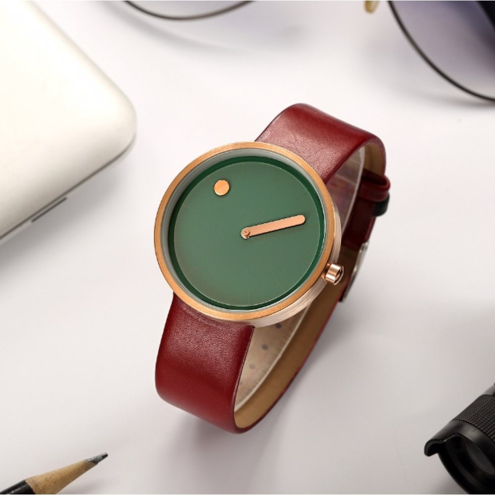 Женские Часы наручные Geekthink, зеленые 2905