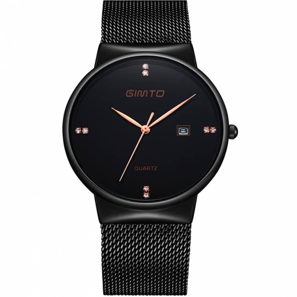 Часы наручные GIMTO черные 2906