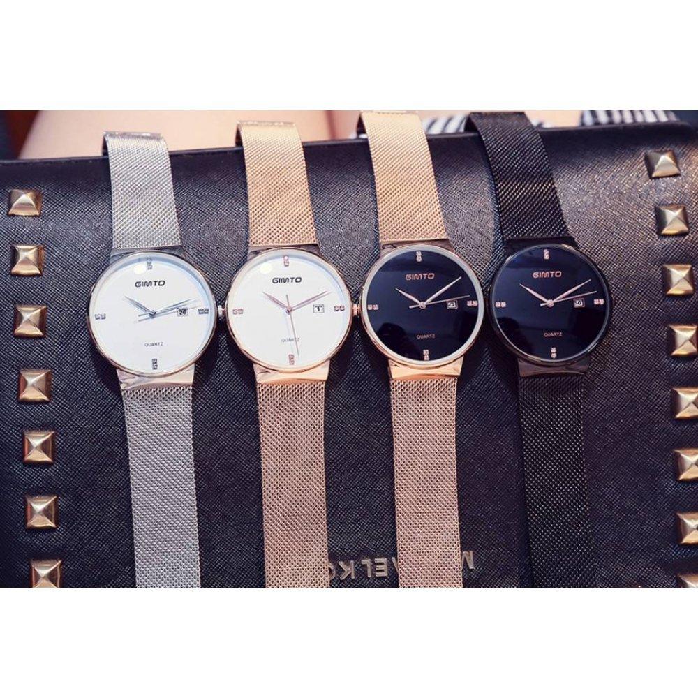 Женские Часы наручные GIMTO черные/золото 2907