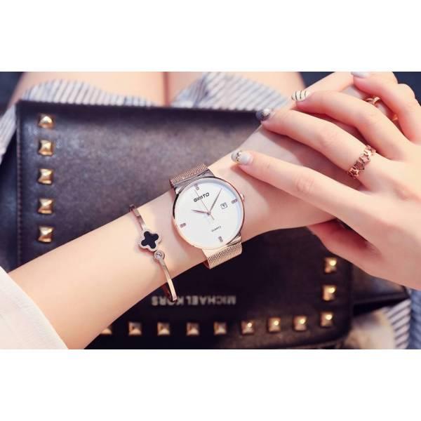 Часы GIMTO белые/золото 2908