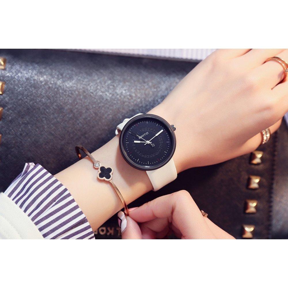 Женские Часы наручные GIMTO, черные 2912