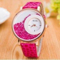 Часы Hesiod розовые