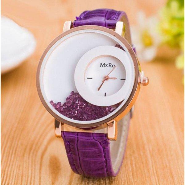 Часы Hesiod фиолетовые 2919