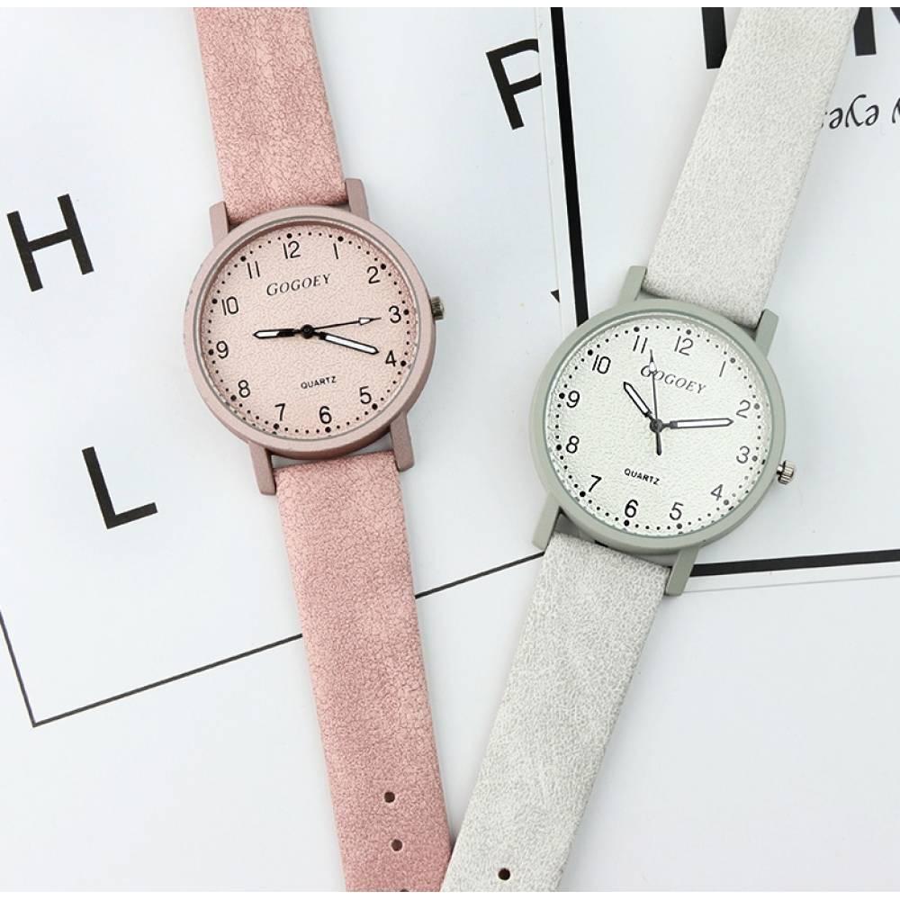 Женские Часы наручные Gogoey, розовые 2946