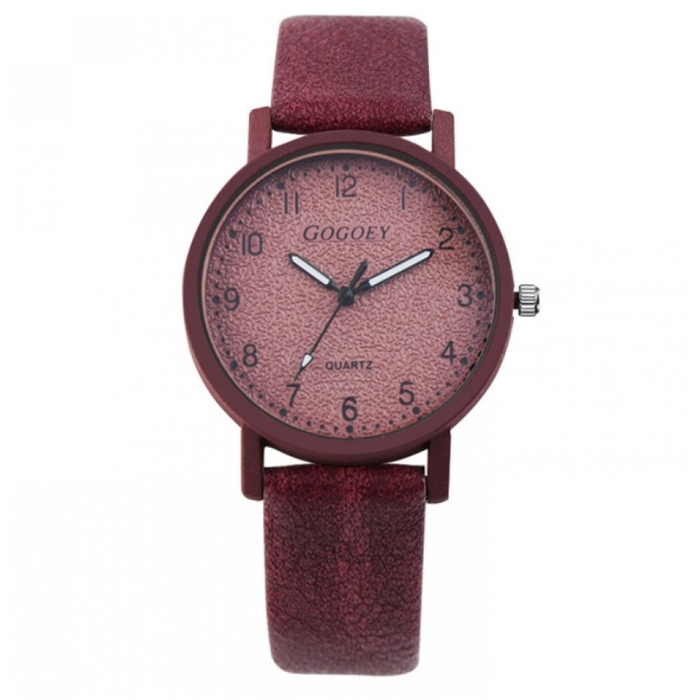 Часы наручные Gogoey красные 2947