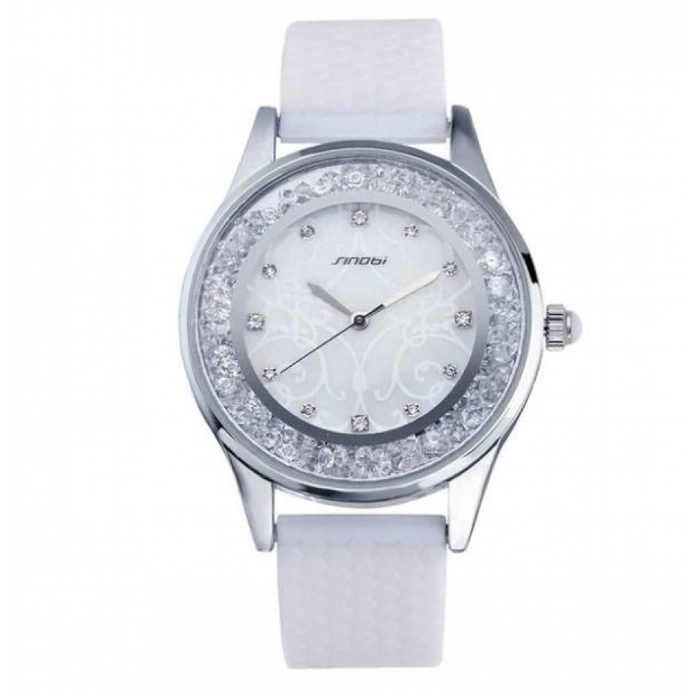 Женские Часы наручные Sinobi, белые 2965