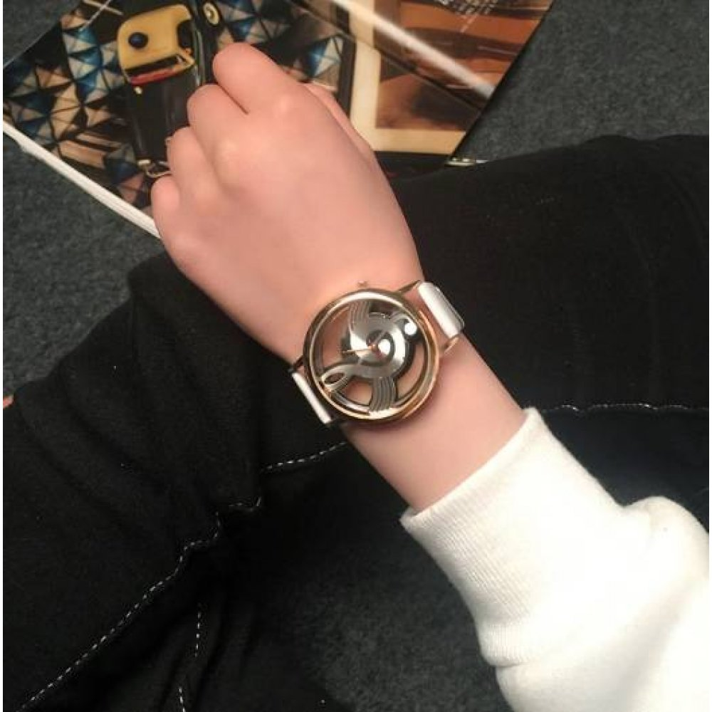 Женские Часы наручные Geekthink, белые 2962