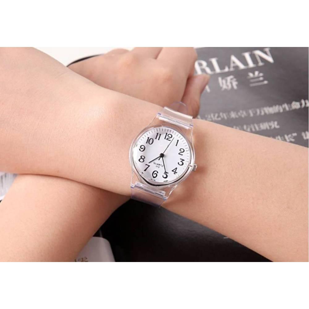 Женские Часы наручные NBSAMENG, прозрачные  2961