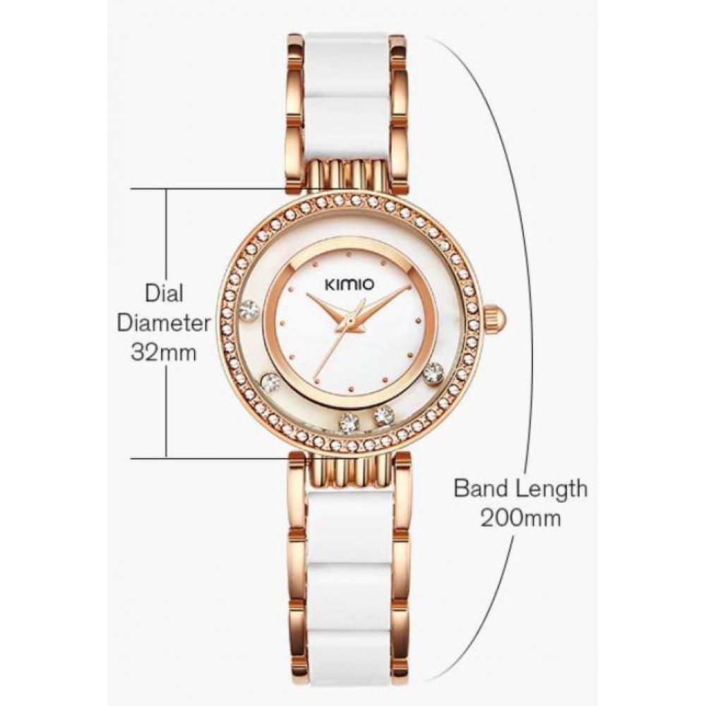 Женские Часы наручные Kimio, розовые 2976
