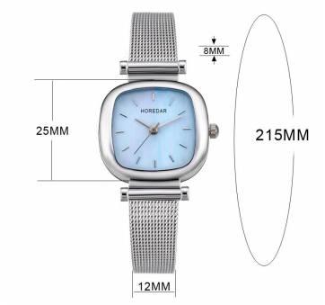 Женские Часы наручные HOREDAR, белые 2984