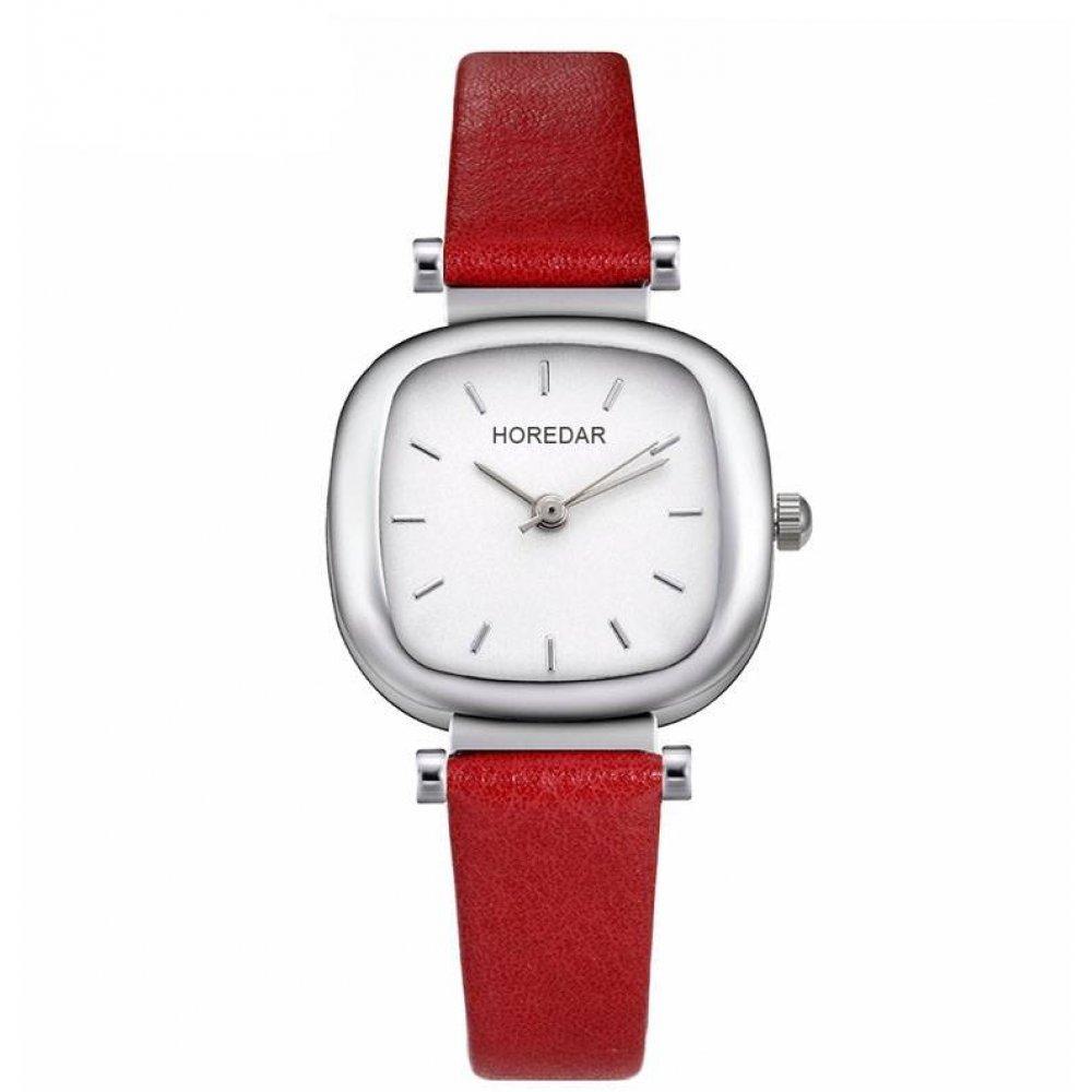 Женские Часы наручные HOREDAR, красные 2985