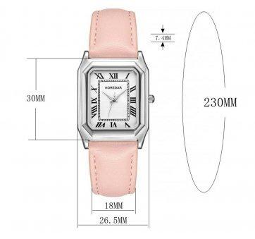 Женские Часы наручные HOREDAR, черные 2987