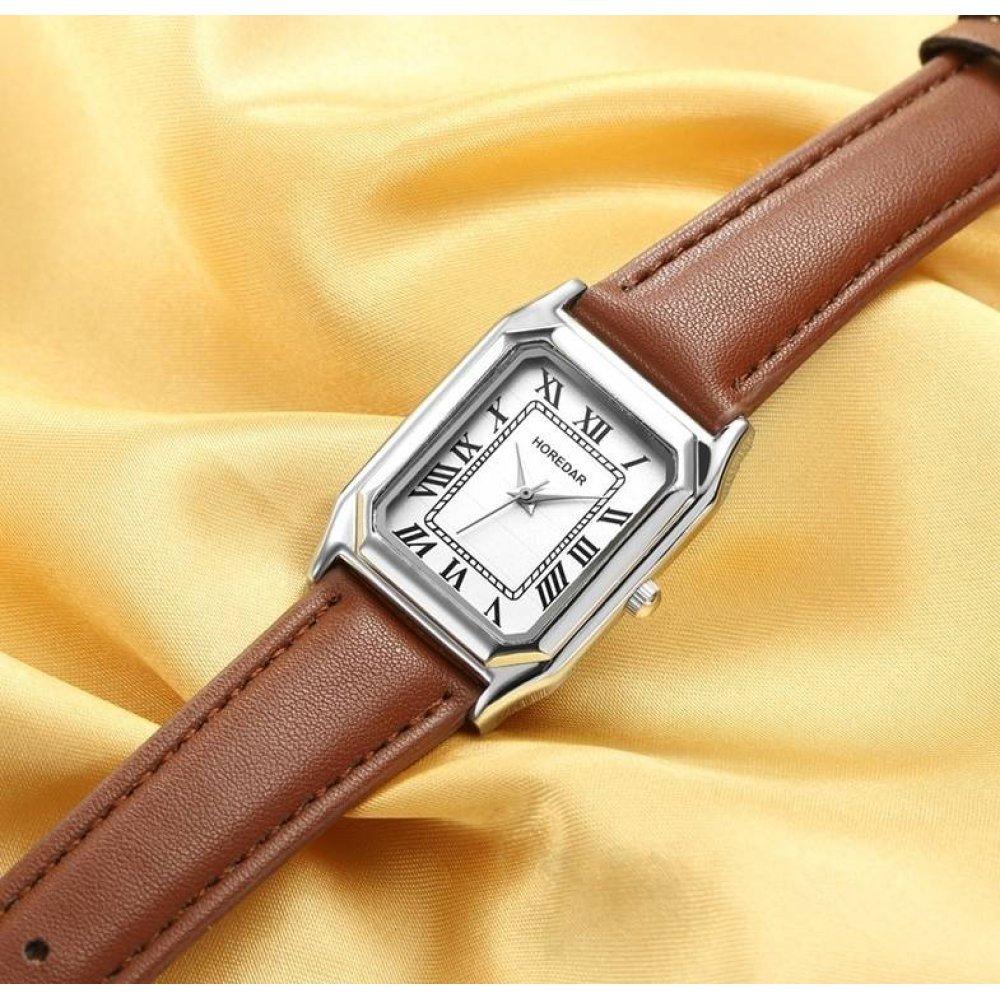 Женские Часы наручные HOREDAR, серые 2990