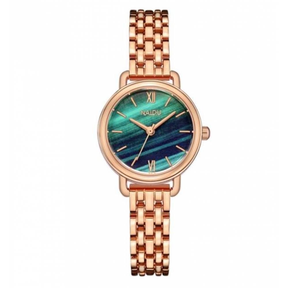 Женские Часы наручные Naidu, золотистые  2996