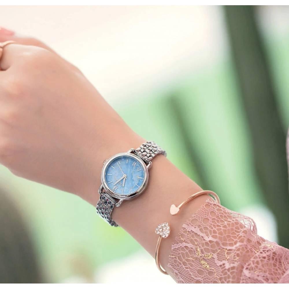 Женские Часы наручные Naidu, голубые 2997