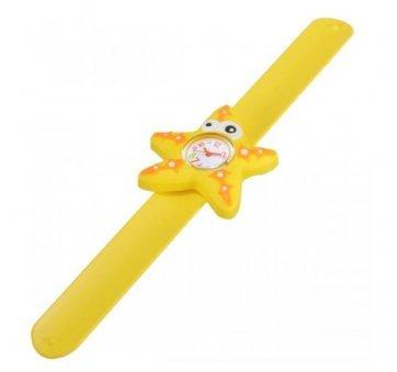Детские Часы наручные Vedd Морская звезда, желтые 3007