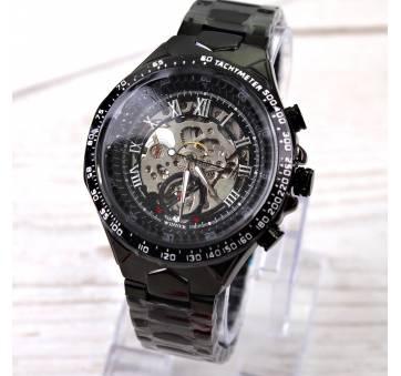 Мужские Часы наручные T-WINNER Скелетоны, черные 3008