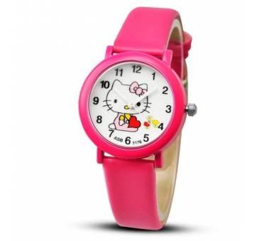 Детские Часы наручные Hello Kitty, розовые 3017