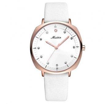 Женские Часы наручные Meibin, белые  3021