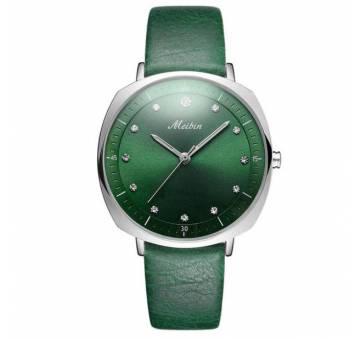 Женские Часы наручные Meibin, зеленые 3022
