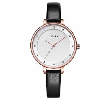 Женские Часы наручные Meibin, черные 3023