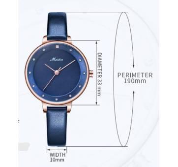 Женские Часы наручные Meibin, красные 3024