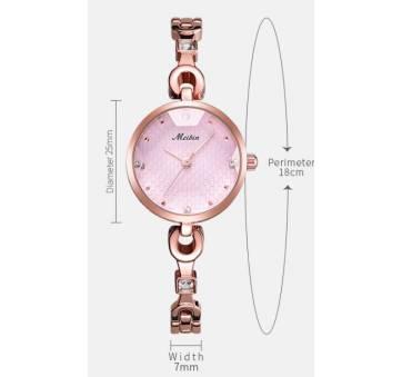 Женские Часы наручные Meibin, золотистые 3025