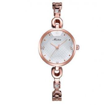 Женские Часы наручные Meibin, золотистые 3026