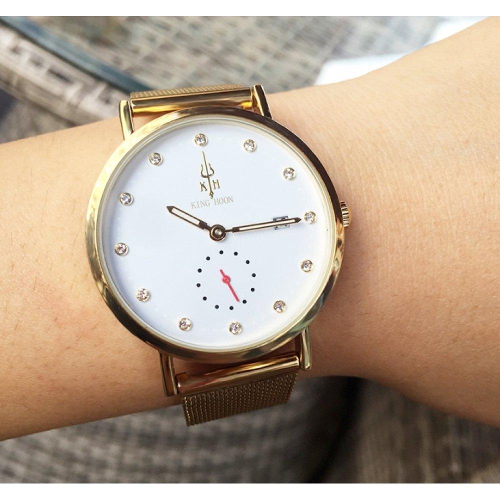 Женские Часы наручные KH, золотистые 3032