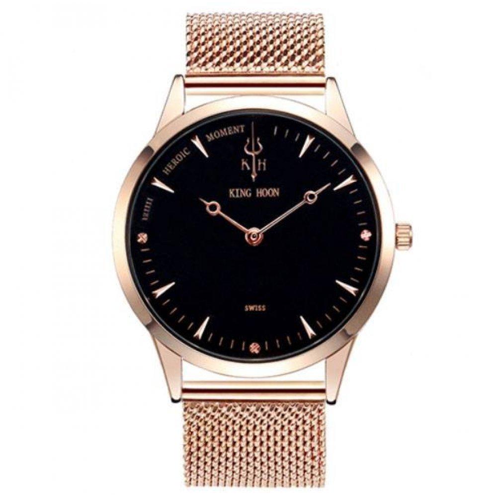 Мужские Часы наручные KH, золотистые 3042