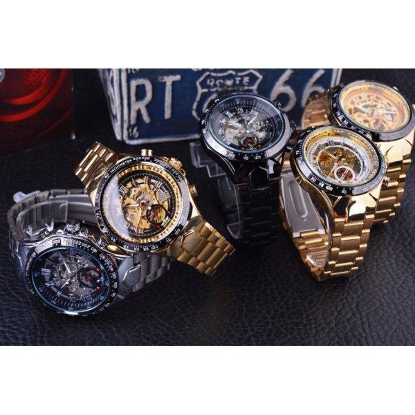 Часы T-WINNER Скелетоны 3050