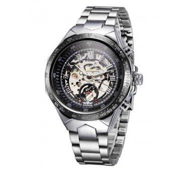 Мужские Часы наручные T-WINNER Скелетоны, серебристые  3051