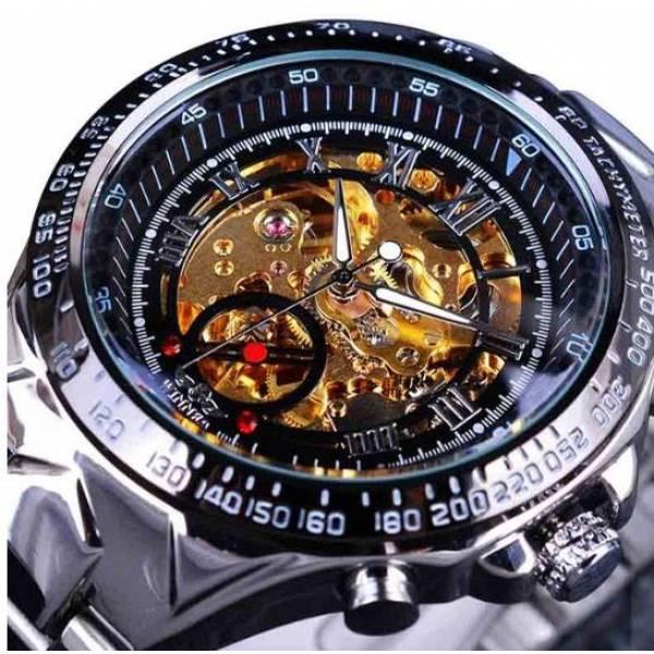 Часы T-WINNER Скелетоны 3052