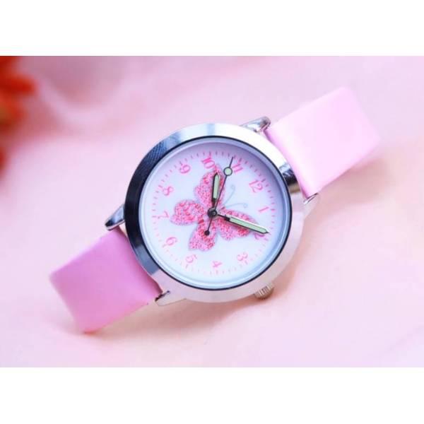 Часы с бабочкой