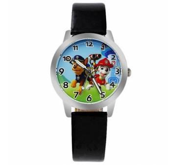 Детские Часы наручные Мультфильм, черные  3085