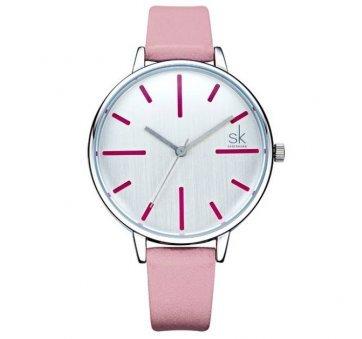 Женские Часы наручные SK розовые 3103
