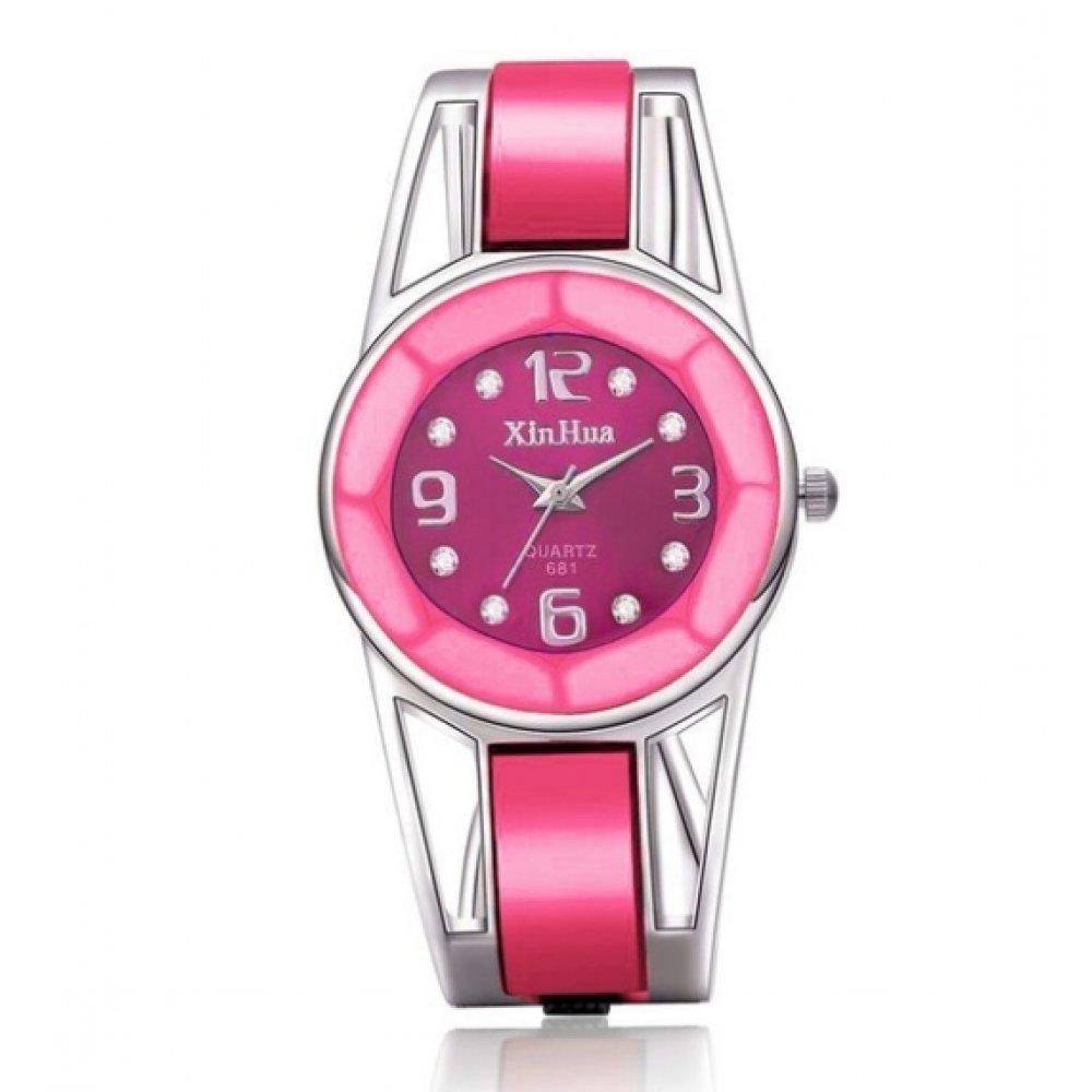 Женские Часы наручные XIRHUA розовые 3141