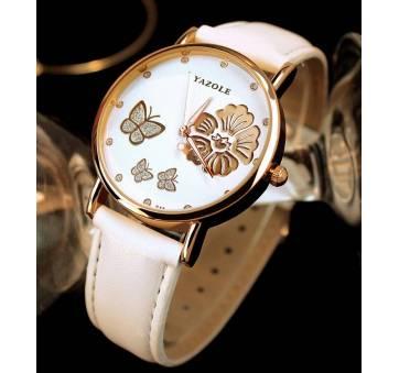 Женские Часы наручные Yazole белые 3147