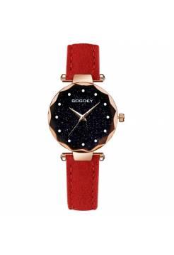 Женские часы Gogdey красные