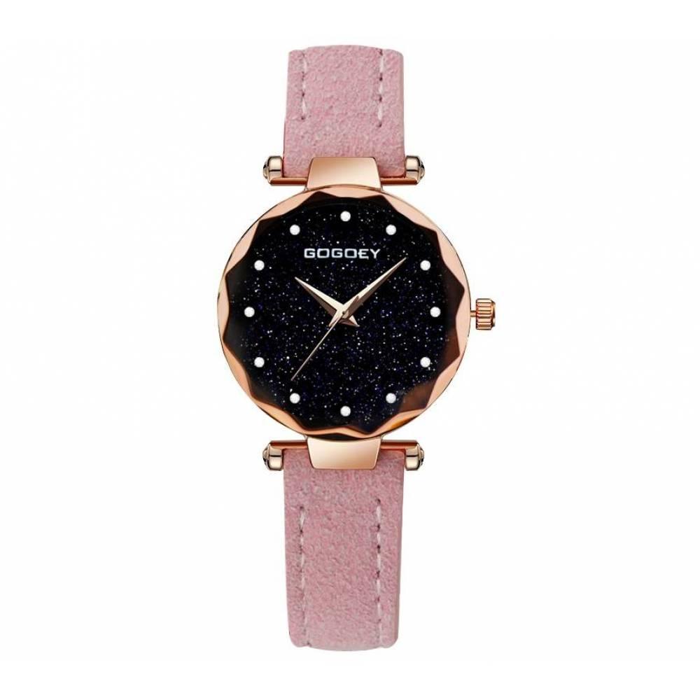 Женские Часы наручные Gogdey розовые 3151