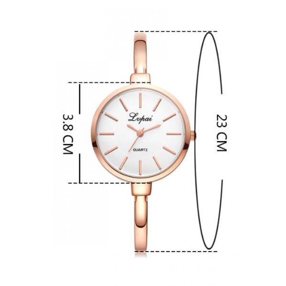 Женские Часы наручные LVPAI, золотистые  3163