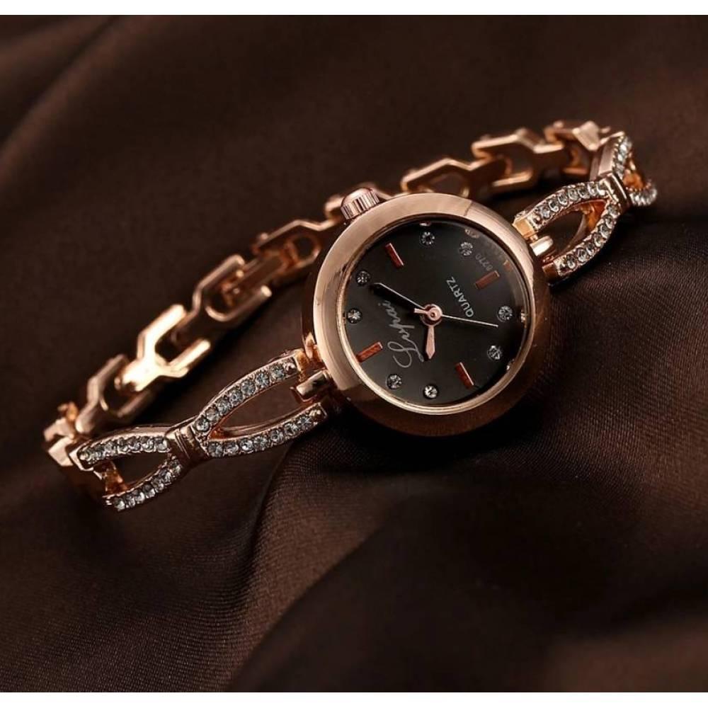 Женские Часы наручные LVPAI, золотистые 3164